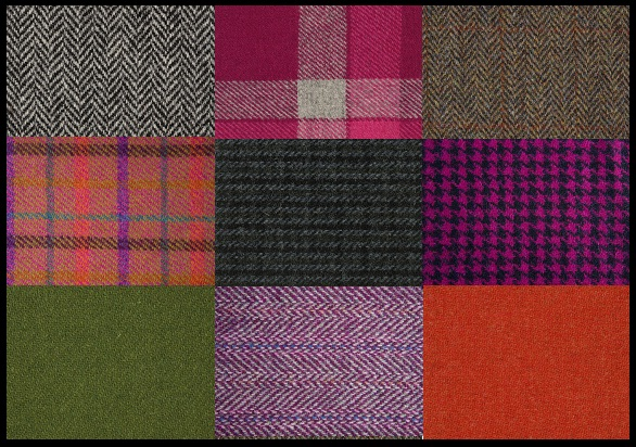 desenie harris tweed