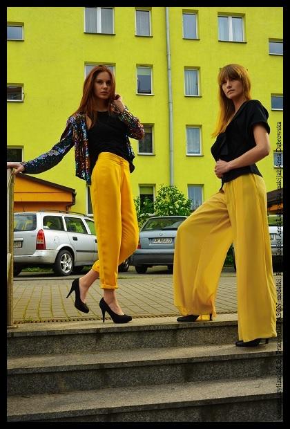 concept;stylizacja&fot. Pracownia FASON modelki;Kinga Kozioł Anna Łeczyńska makijaż;Anna Dąbrowska