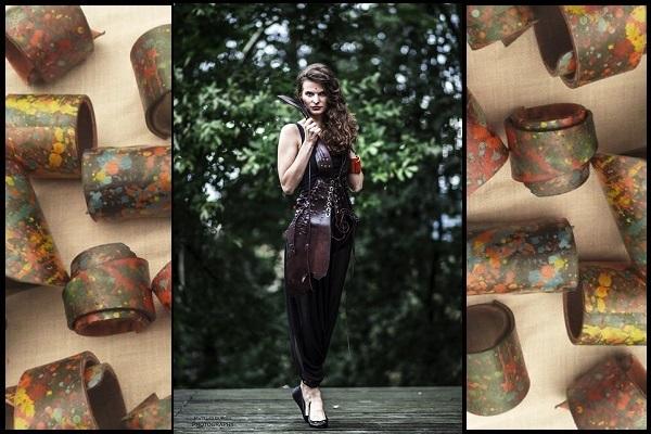 fot. Mateusz Gurgul modelka; Monika Piotrowska bransolety Irydos Atelier